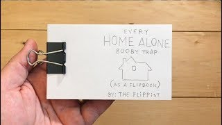 Every Home Alone Booby Trap (as a flipbook)