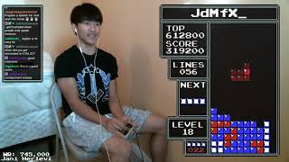 (PAL) NES TETRIS - 758,360 World Record - 12/16/2018