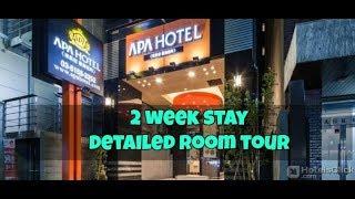 APA Higashi Shinjuku Kabukicho Hotel Tour & Review in Tokyo Japan || Affordable Hotel