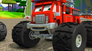 Bigfoot Presents: Meteor and the Mighty Monster Trucks - Episode 31 - Sinker's Lucky Pump