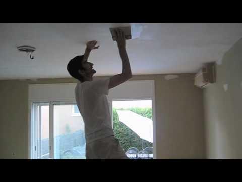 Pinturas calvet 2 masillado de techos paredes youtube - Aplicacion de microcemento en paredes ...