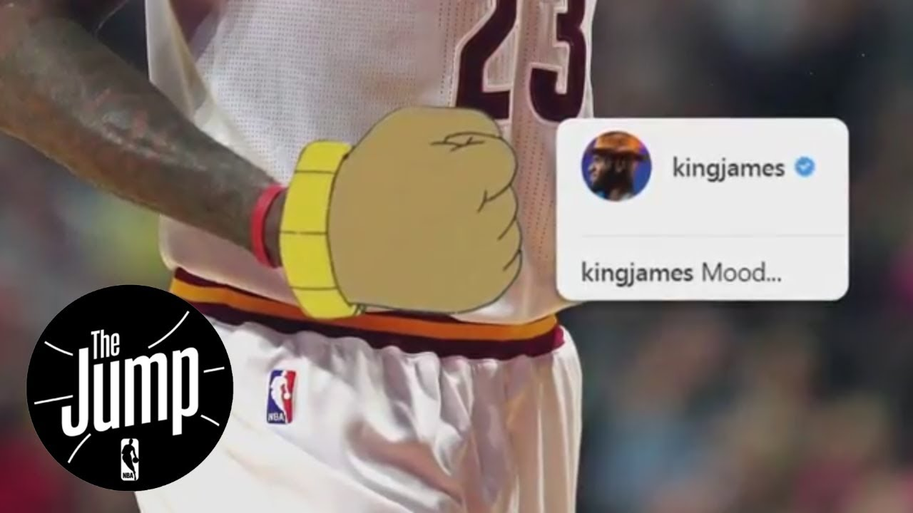 Decoding LeBron James' 'Arthur' meme; Should Cavs regret trading Kyrie Irving? | The Jump | ESPN