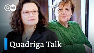 Merkels Regierung: Kurz vor dem Bruch?   DW Quadriga