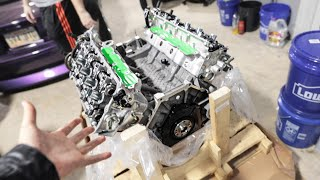 Unboxing my INSANE new 1,500hp 5.2L VooDoo Engine!