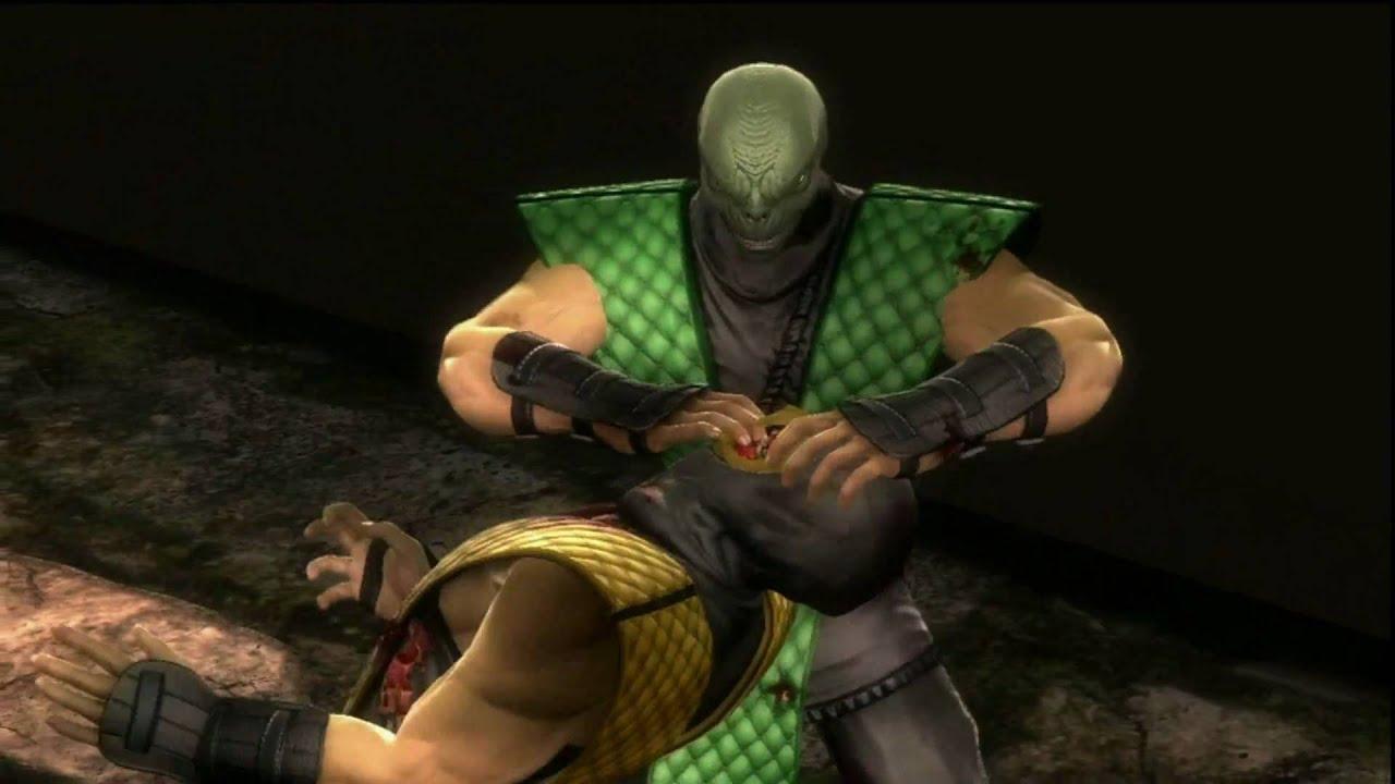 Reptile mortal kombat costume - photo#17
