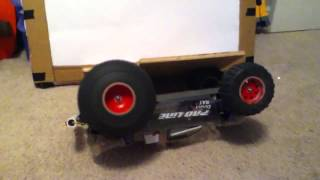 The biggest ballooning tire on an Rc car that I