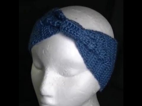 Crochet Tutorial Headband : Headband Crochet Tutorial - YouTube