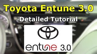 Toyota Entune 3.0 (2018) Detailed Tutorial and Review: Tech Help