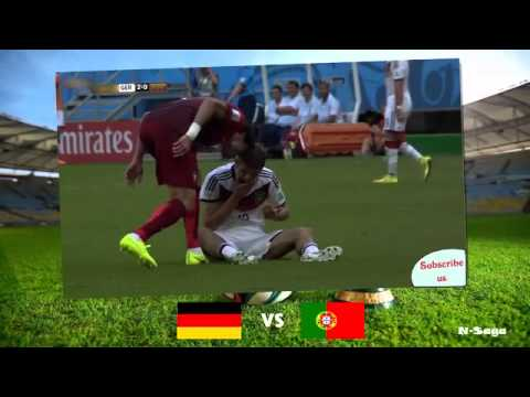 Germany vs Portugal 4 0 All Goals Highlights ~Fifa World Cup 2014 English