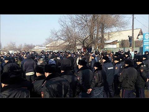 СРОЧНО: Межнац столкновения в Казахстане: казахи и турки устроили беспорядки