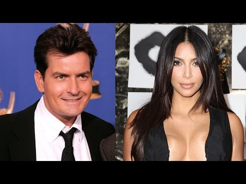 "Charlie Sheen Tells Kim Kardashian to ""F Off"""