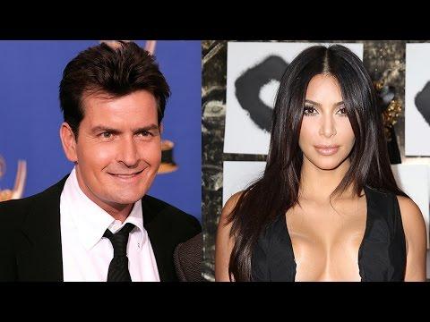 Charlie Sheen Tells Kim Kardashian to
