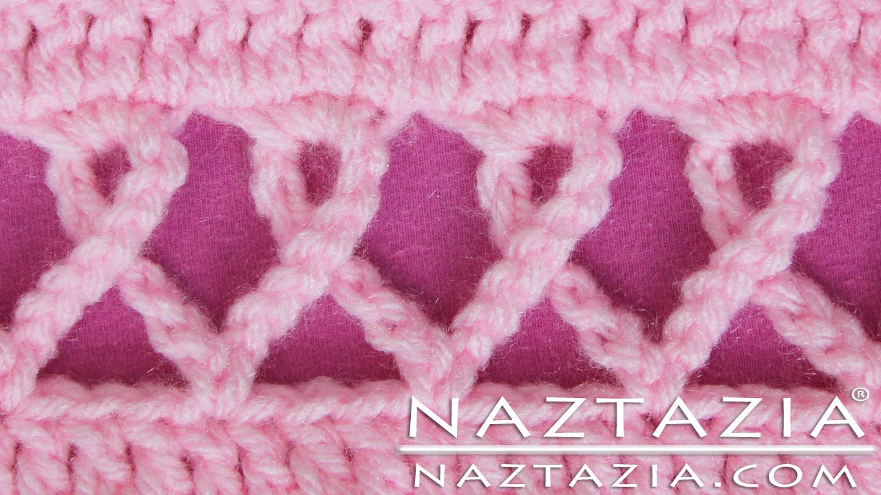DIY Crochet Pink Awareness Ribbon Scarf Prayer Shawl Wrap ...