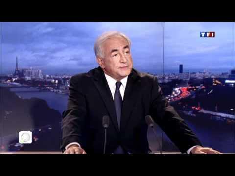 """TV5Monde - DSK : """"J'ai commis une faute morale"""" lors de son itw sur TF1"""