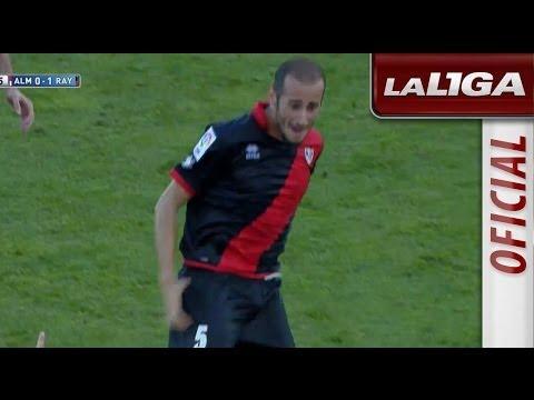 Golazo de falta de Gálvez (0-1) UD Almería - Rayo Vallecano