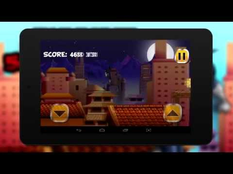 Ninja run and samurai 2016 on android iphone ios ipad - run game