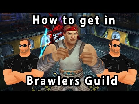 How to get Brawlers guild Invitation Fast - Legion 7.1.5 New!