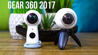 Gear 360 2017 Edition Plus Comparison to the Original Gear 360