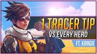 1 TRACER TIP for EVERY HERO ft. Kragie