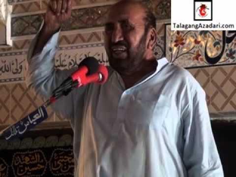 Zakir Khadim Ghagri (7 October 2012 Hussain Mahal Moorat Talagang)