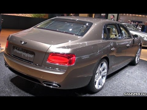2014 Bentley Flying Spur in Depth Look - 2013 Geneva Motor Show