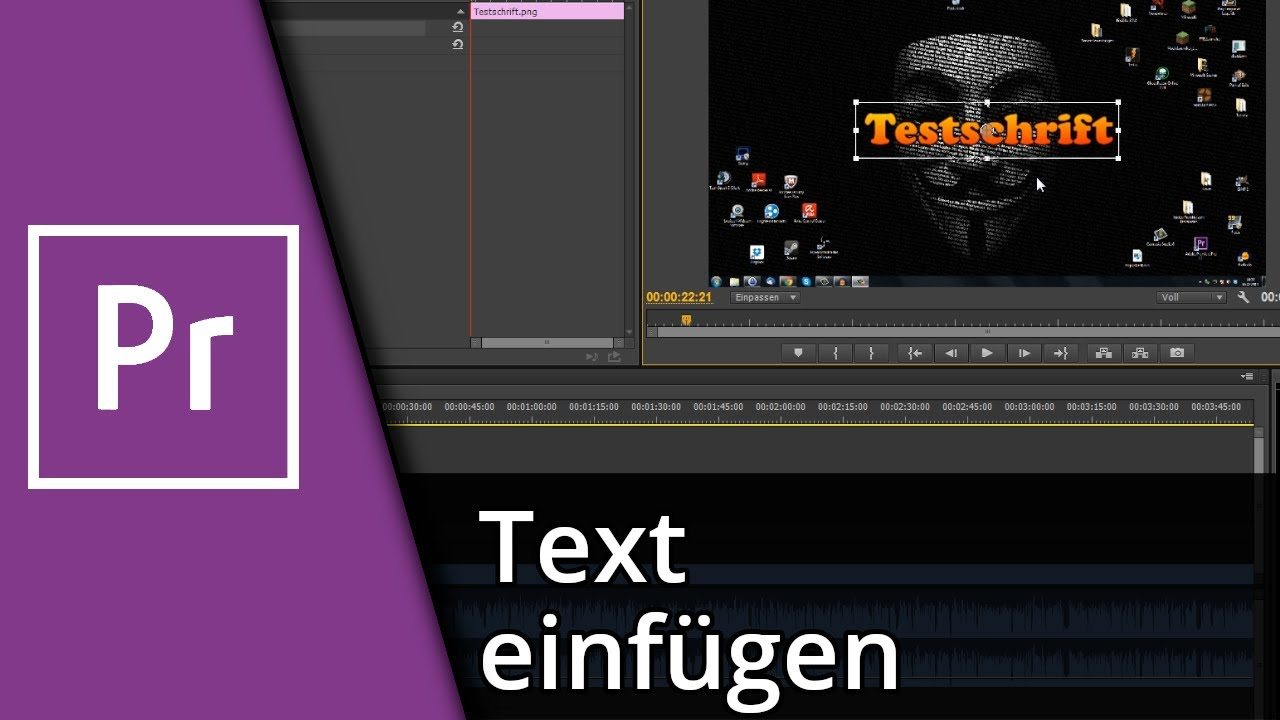 adobe premiere elements how to add text