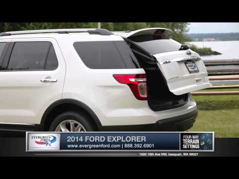 2014 Ford Explorer Walkaround | Evergreen Ford - Serving Issaquah, WA & Seattle, WA