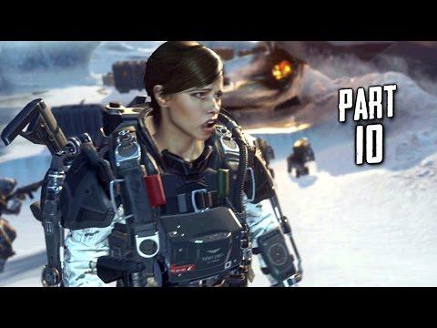 Call of Duty Advanced Warfare Walkthrough Gameplay Part 10 - Crash - Campaign Mission 9 (COD AW)