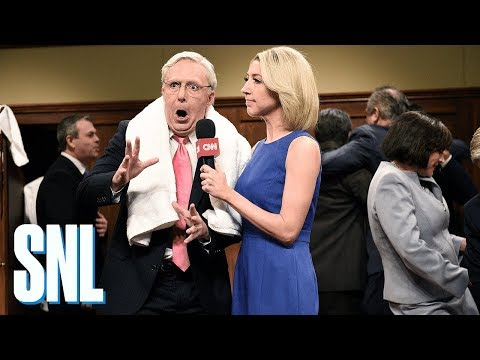 Brett Kavanaugh Post-Game Cold Open - SNL