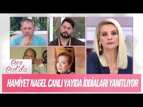 Hamiyet Nagel canlı yayında iddiaları yanıtlıyor - Esra Erol'da 25 Aralık 2017