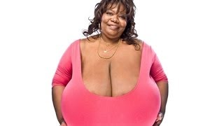 Woman Has The Biggest Natural Breasts In The World