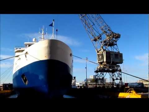 Superferry II Dry Docking in Piraeus
