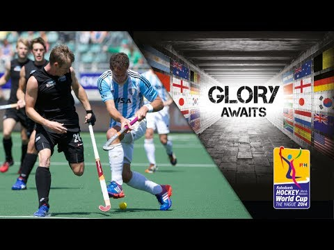 New Zealand vs Argentina - Men's Rabobank Hockey World Cup 2014 Hague Pool B [06/6/2014]
