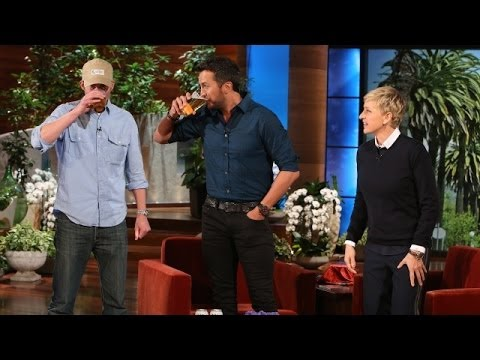 Luke Bryan Knocks A Few Back With Andy video