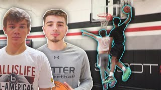 JESSER VS HIGH SCHOOL BASKETBALL ALL AMERICANS ft Mac McClung, Jordan McCabe, Shareef O'Neal + More!