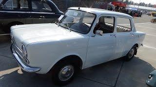 1961-1968, Simca 1000, Exterior and Interior, Auto Show Veterama Hockenheim 2015