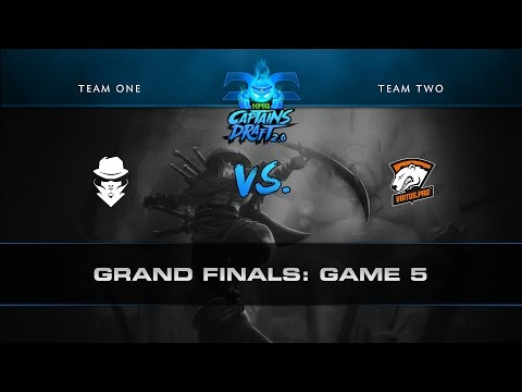 XMG Captains Draft 2.0 - Grand Finals - Team Secret vs Virtus.Pro - Game 5