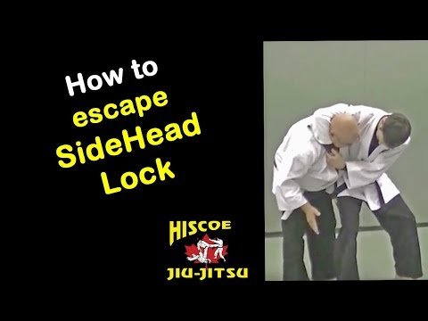 Self Defence Technique - How to escape a side headlock - Hiscoe Jiu-Jitsu Image 1