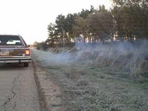 Hard Revving Smoking Banging Fire Exhaust