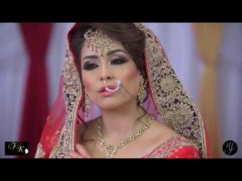 Photoshoot- Asian bridal makeup and hair by farah khan