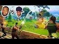 HIKEPLAYS: Fortnite Battle Royale - 50 VS 50 - NEW GAME MODE (4K)