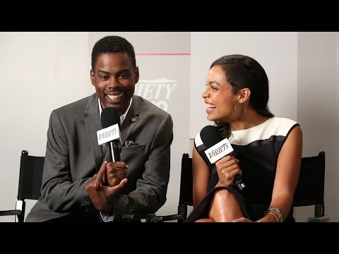 Chris Rock and Rosario Dawson Talk 'High Five' - Interview