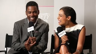 Chris Rock and Rosario Dawson Talk
