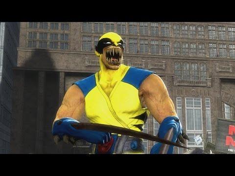 Mortal Kombat 9 Baraka Wolverine