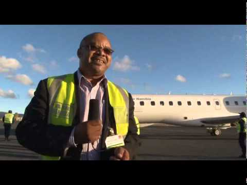 OneAfrica TV - Top Stories News - Air namibia Jet