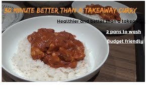 Accessible cookery series - episode two - Quick one pan curry