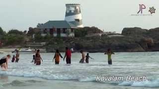 Kovalam Beach Video - Thiruvananthapuram