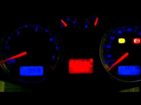 COLD START -22°C VW BORA 1.9 TDI ASV