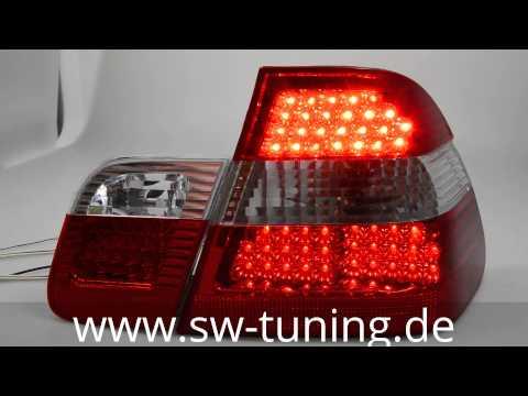 sw light led r ckleuchten f r bmw e46 vorfacelift red sw. Black Bedroom Furniture Sets. Home Design Ideas