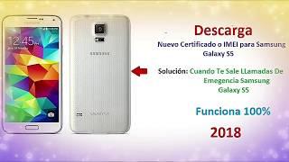 Samsung Galaxy S5 (G900H) Reparar Cert o IMEI 2018 Facil 100%